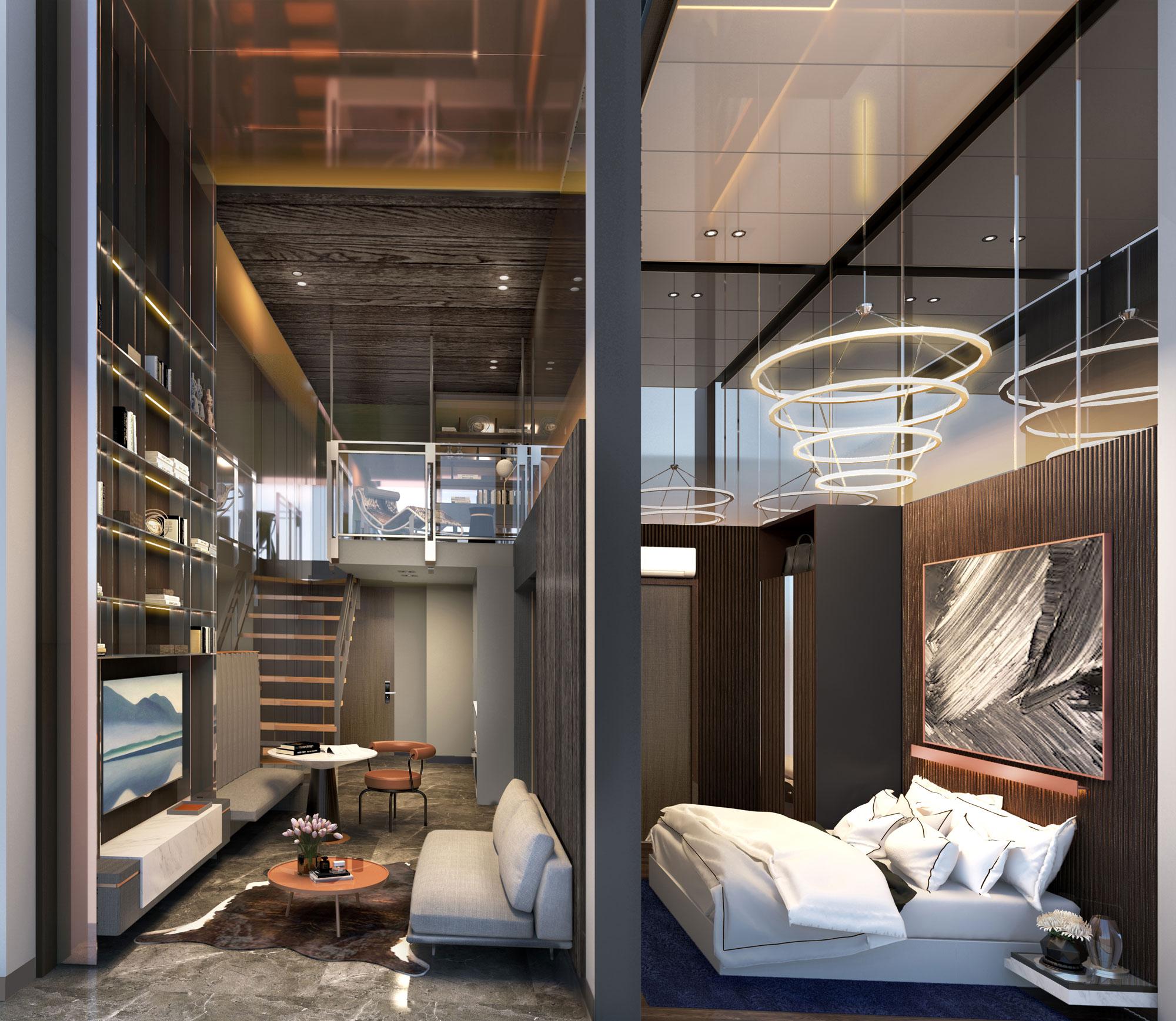 120 Grange 1 bedroom loft