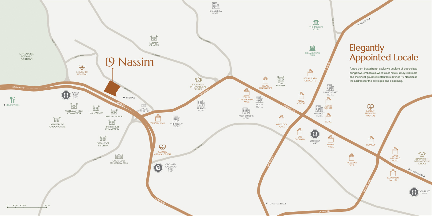 19 Nassim Location Map