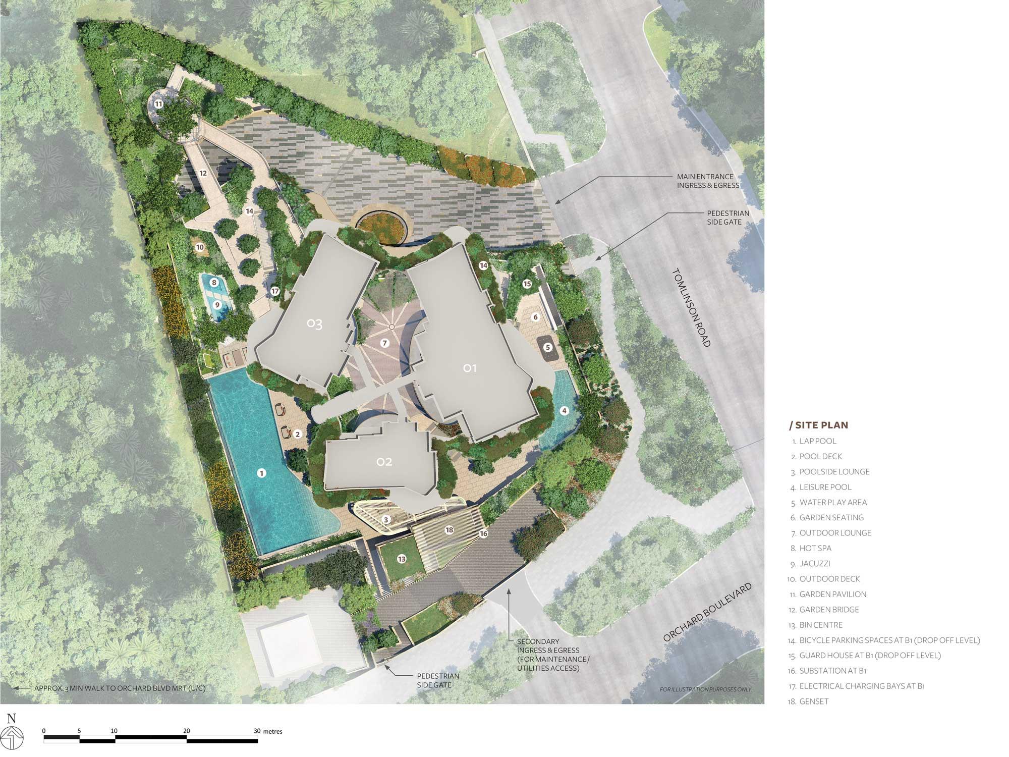 15 Holland Hill Site Plan